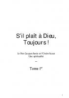«S'il plaît à Dieu, toujours !» (section 6 : ordre)